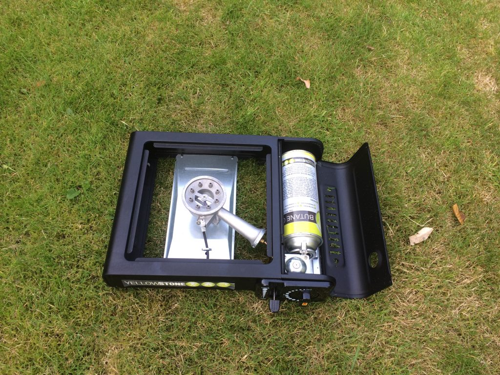 the Yellowstone Portable Gas Stove