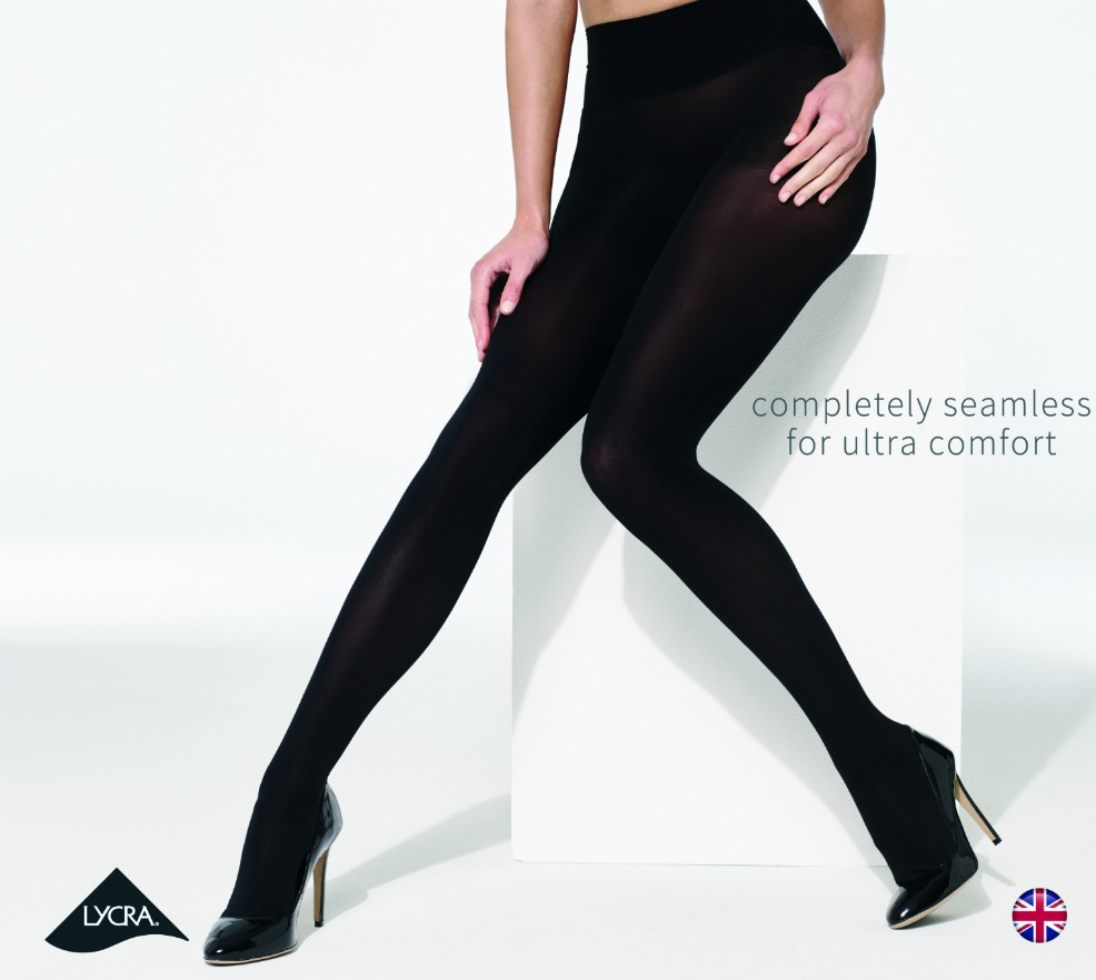 Beyond Comfort Seamless 60D tights (Black)