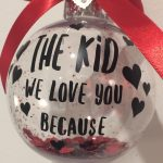 A Personalised Bauble Is Not Just for Valentine's Day