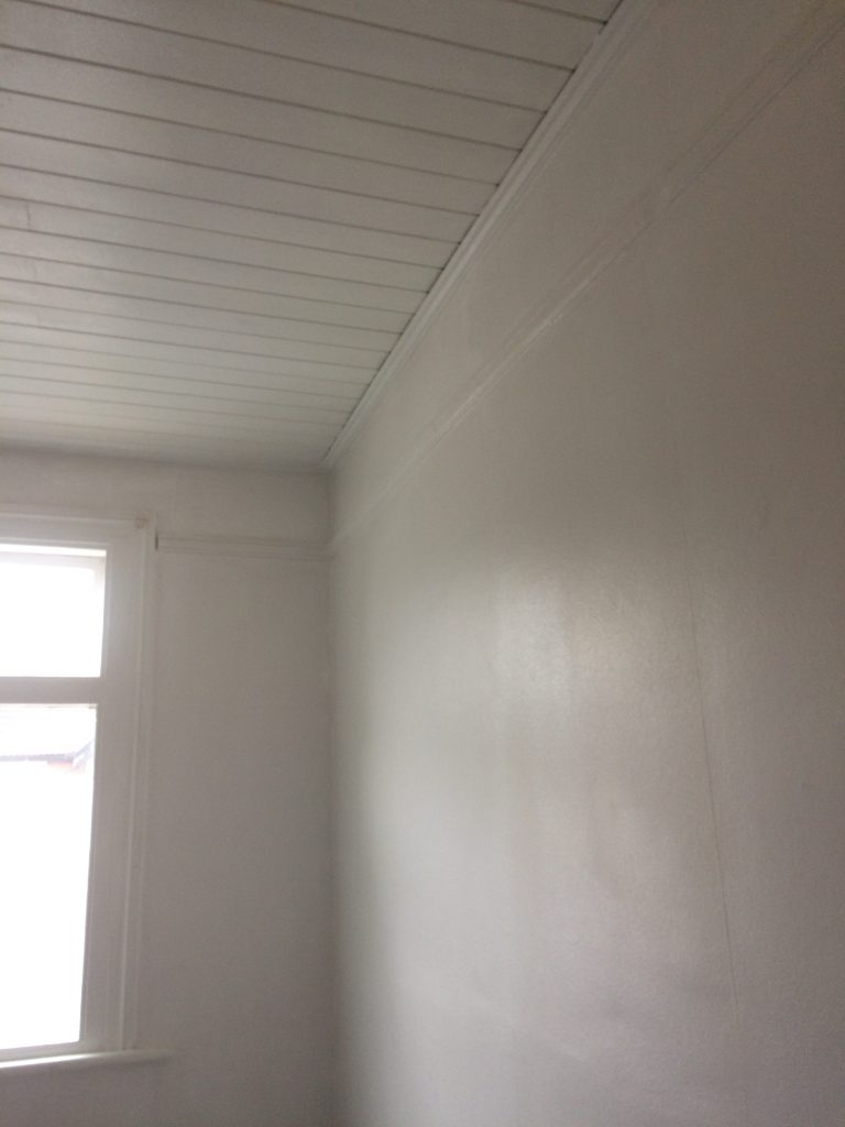 Box Room painted white