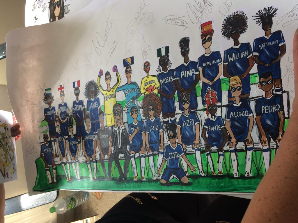 Charlotte Posner Chelsea Football Team Pop Dolls