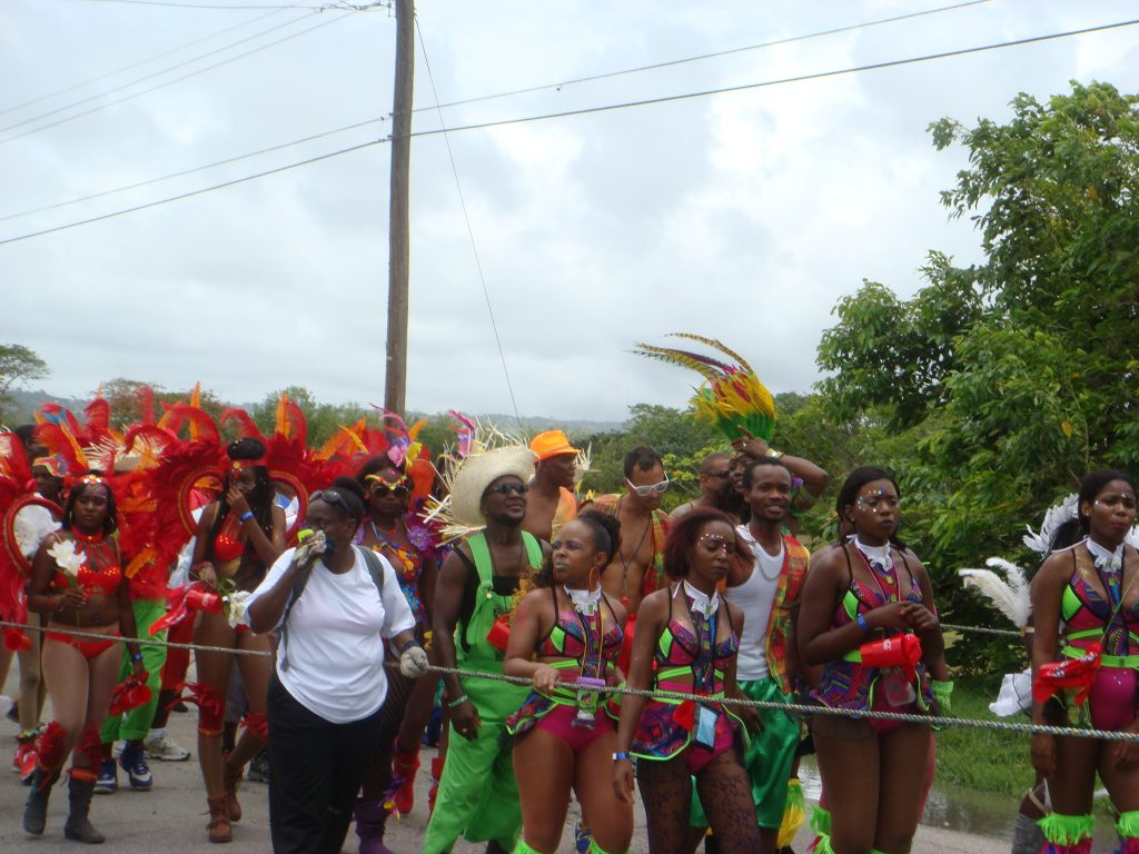 Revellers taking to the streets