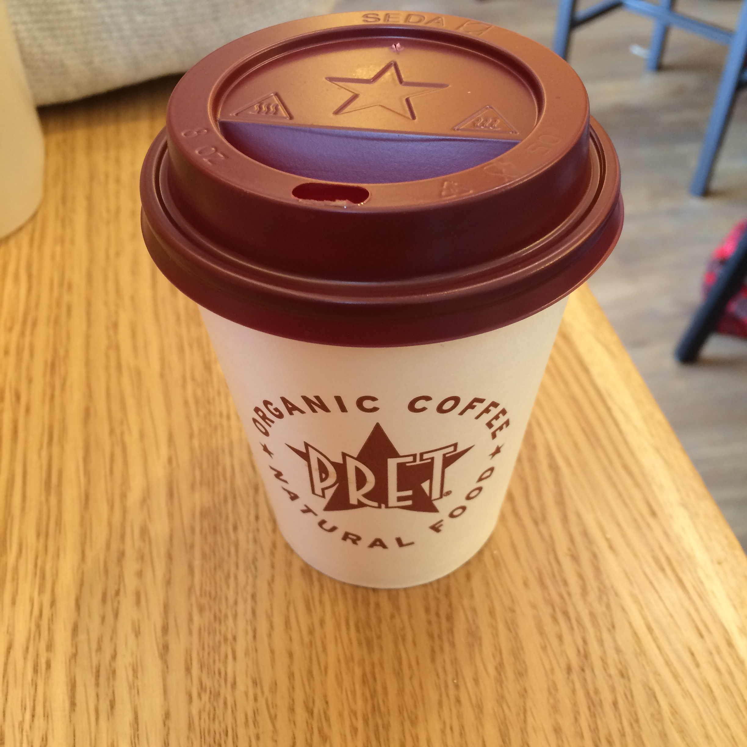 Pret Flat White Organic Coffee