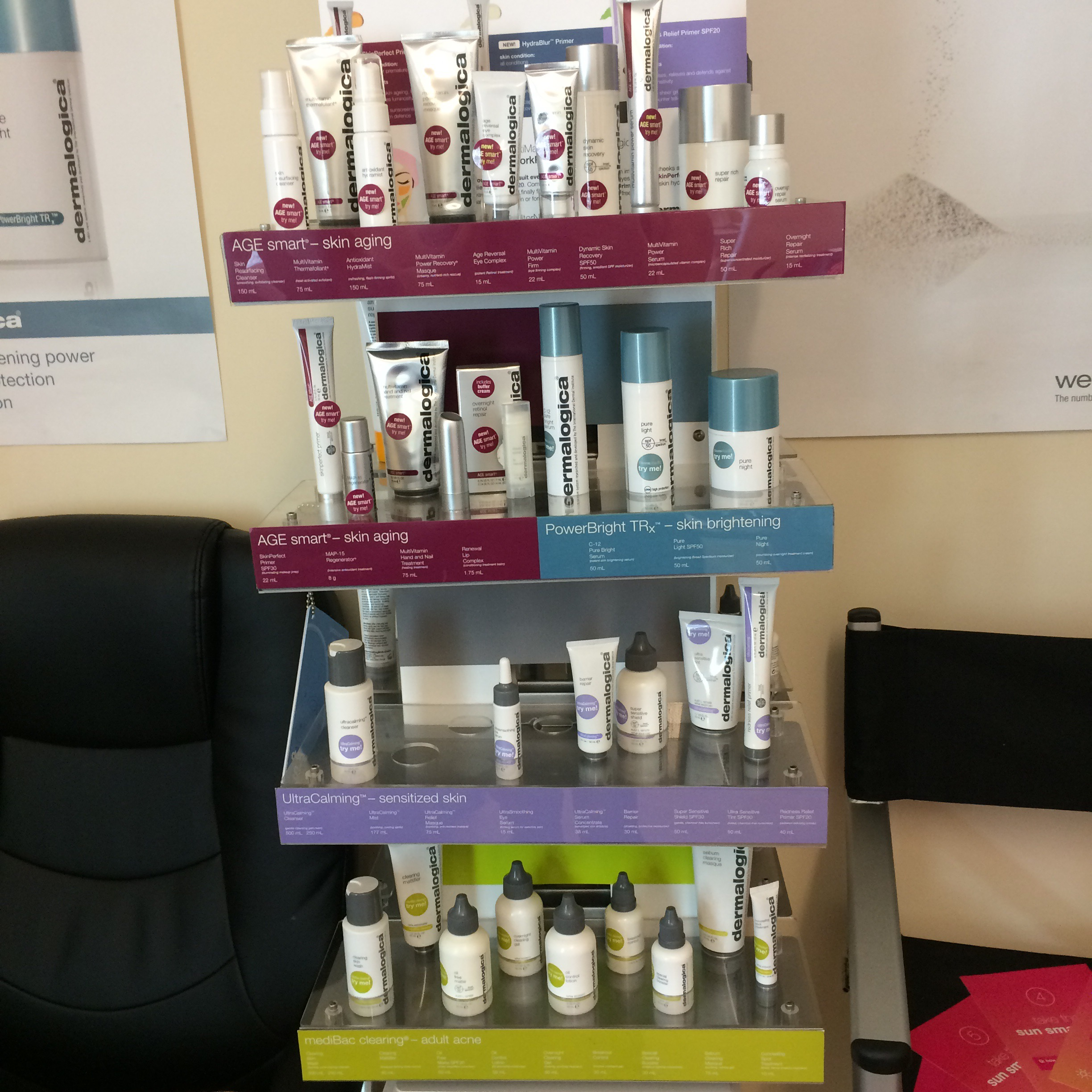 Dermalogica Products.