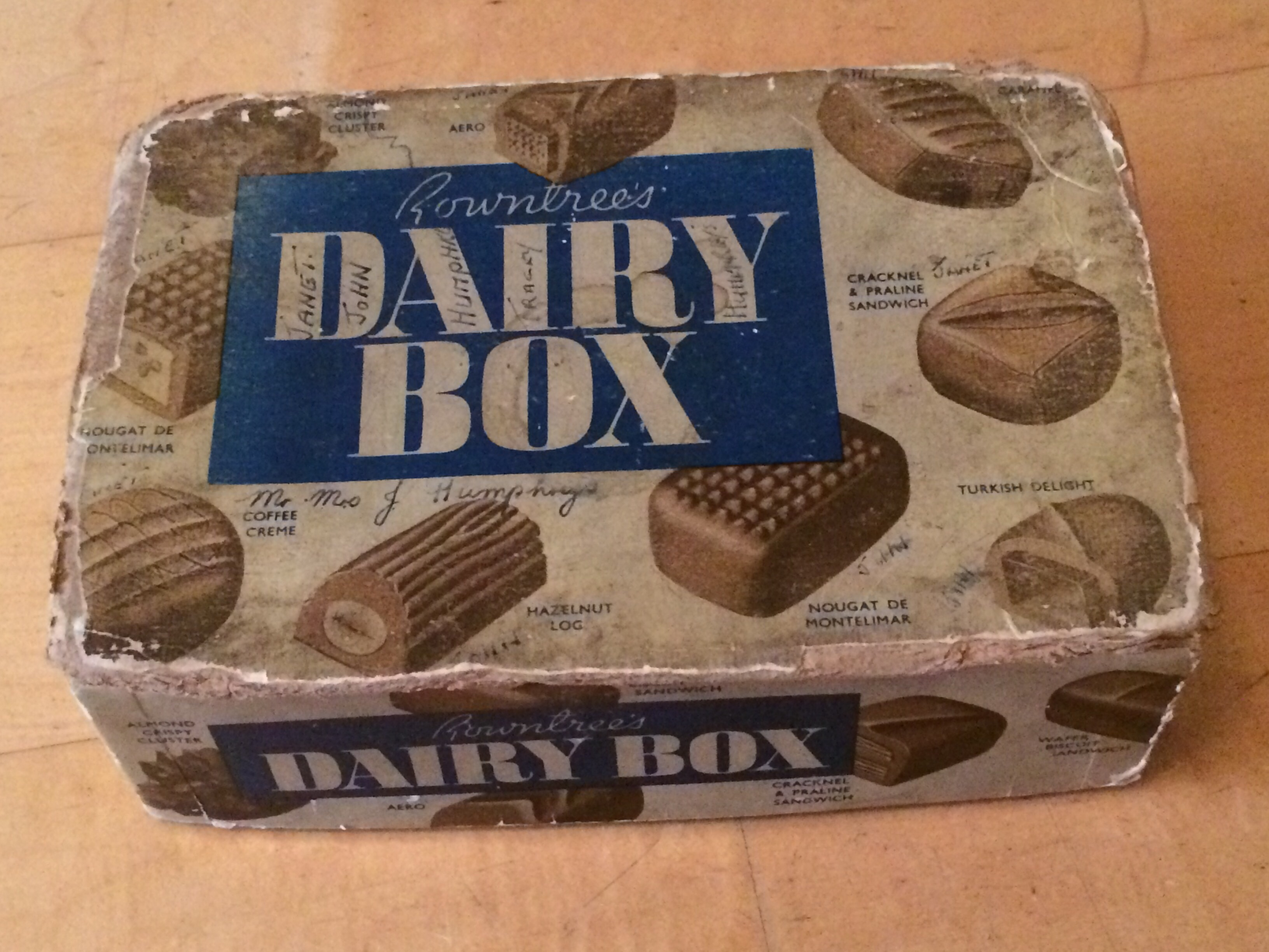 Rowntrees Dairy Milk Box