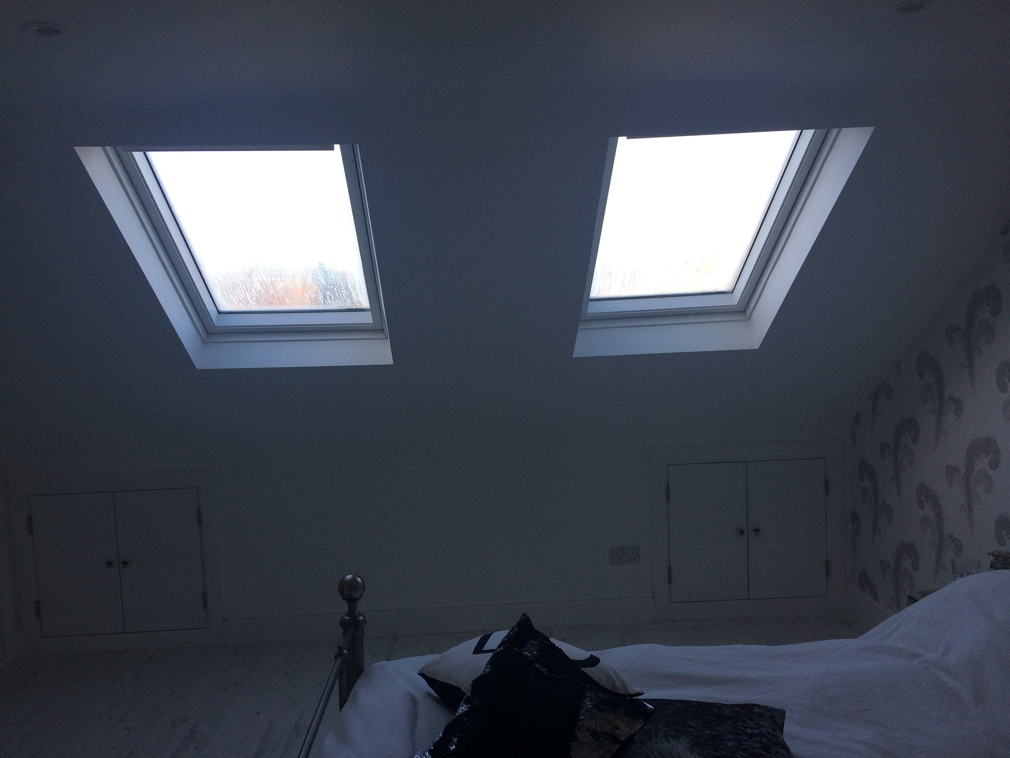 Velux Windows and Eaves