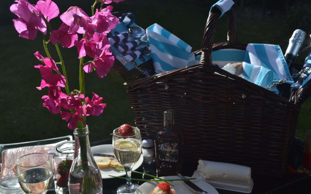 The Perfect Picnic Basket with Wayfair
